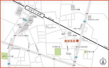東京支社マップ